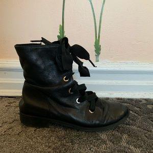 Zara Girls Leather Booties
